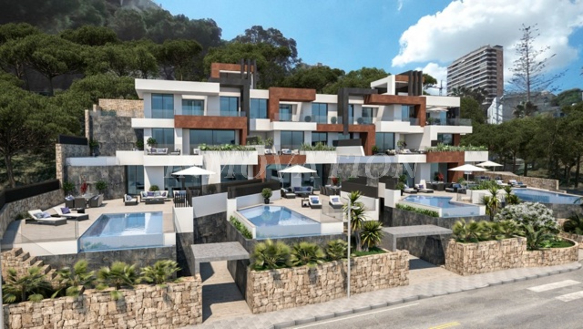 New Luxury Beachfront Apartments, Benidorm