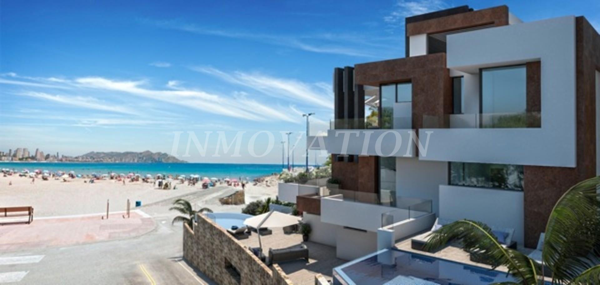 Previous Next New Luxury Beachfront Apartments Benidorm