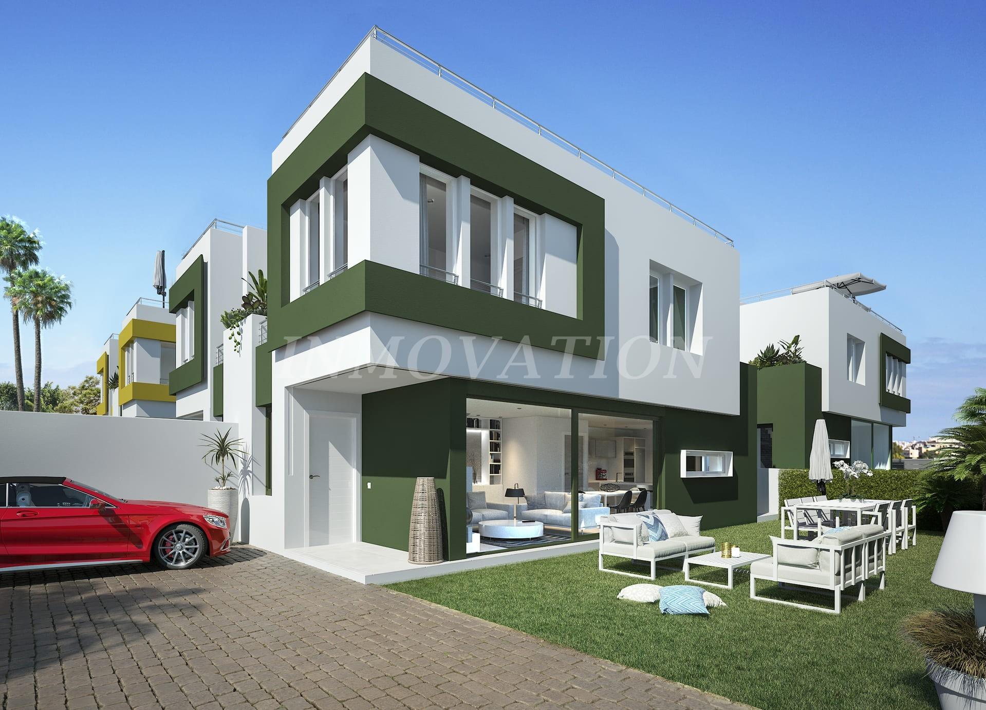 Modern Design Semi-Detached Villas in Denia
