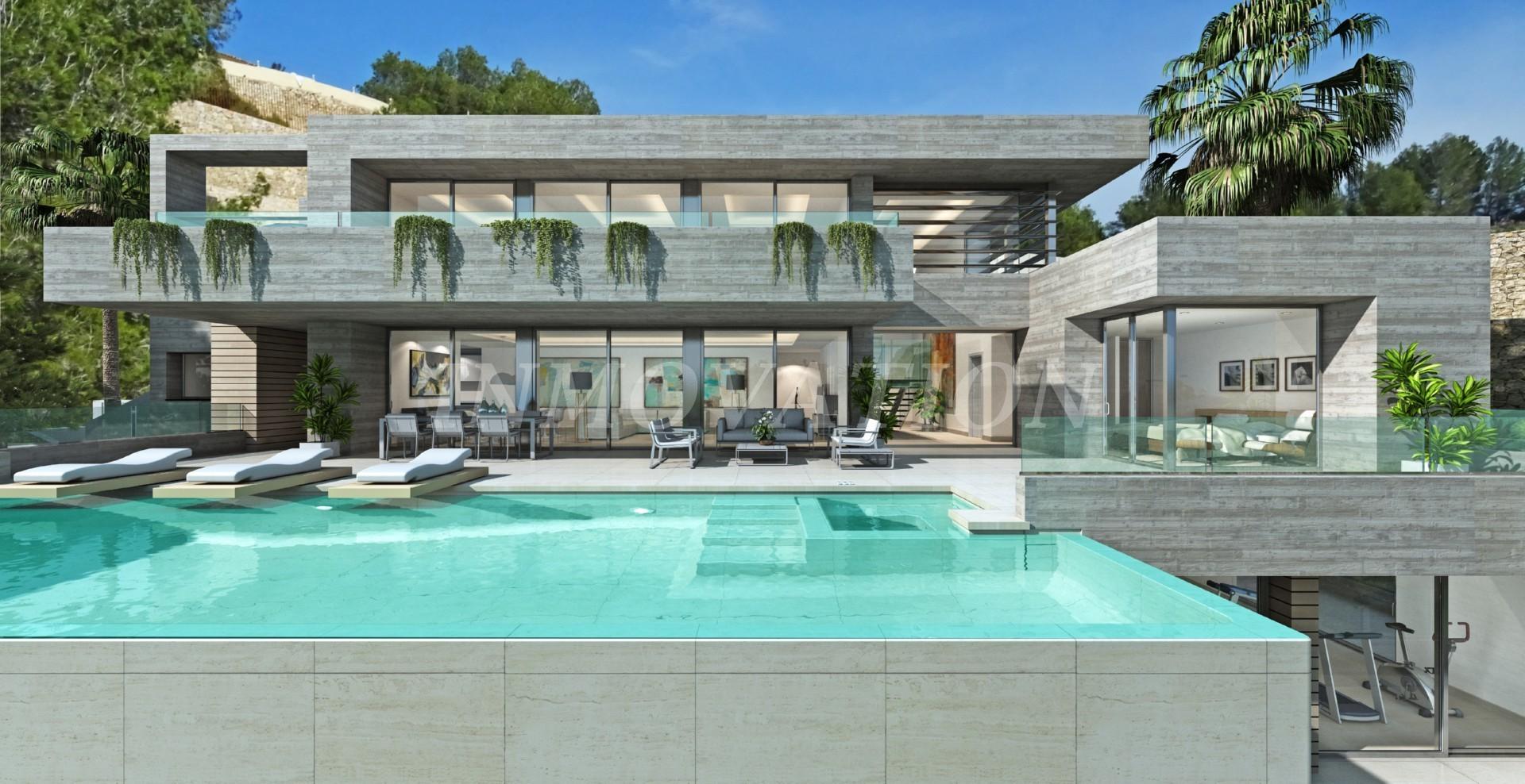 A Magnificent New Villa In Benissa