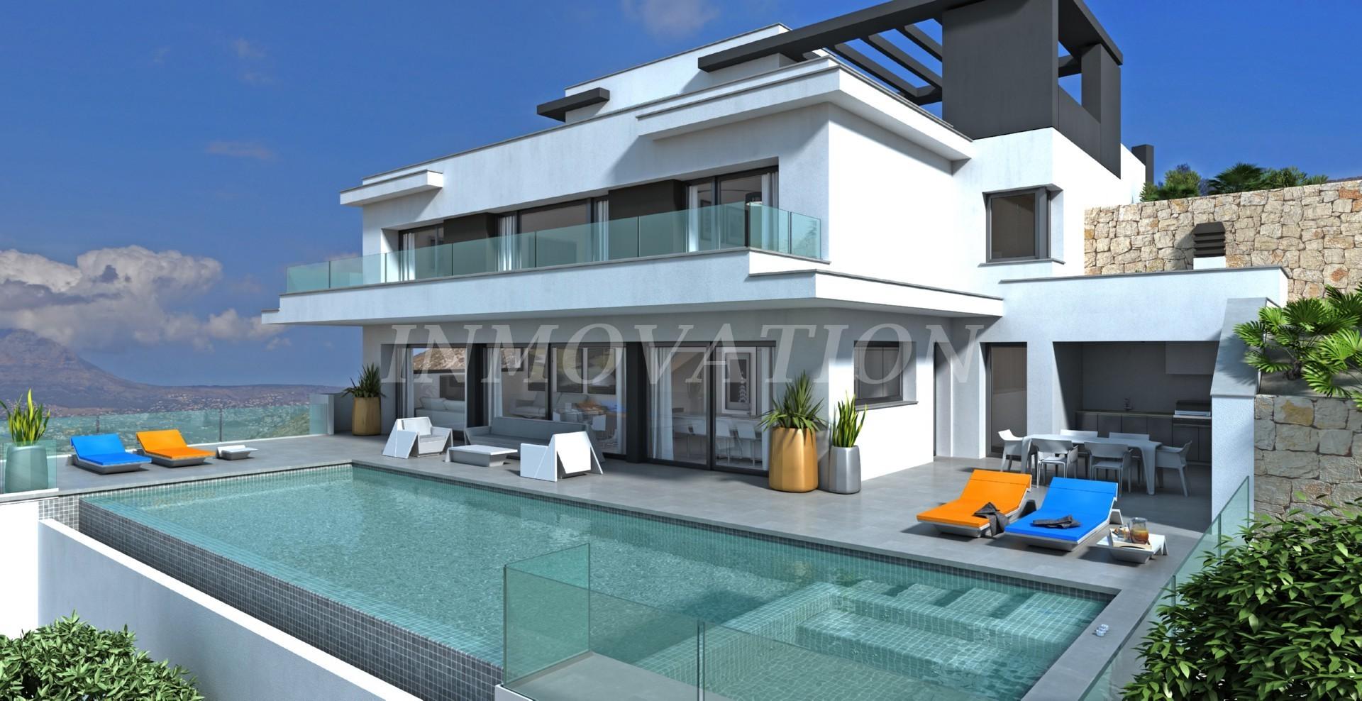 New Modern Villa Construction in Benitachell