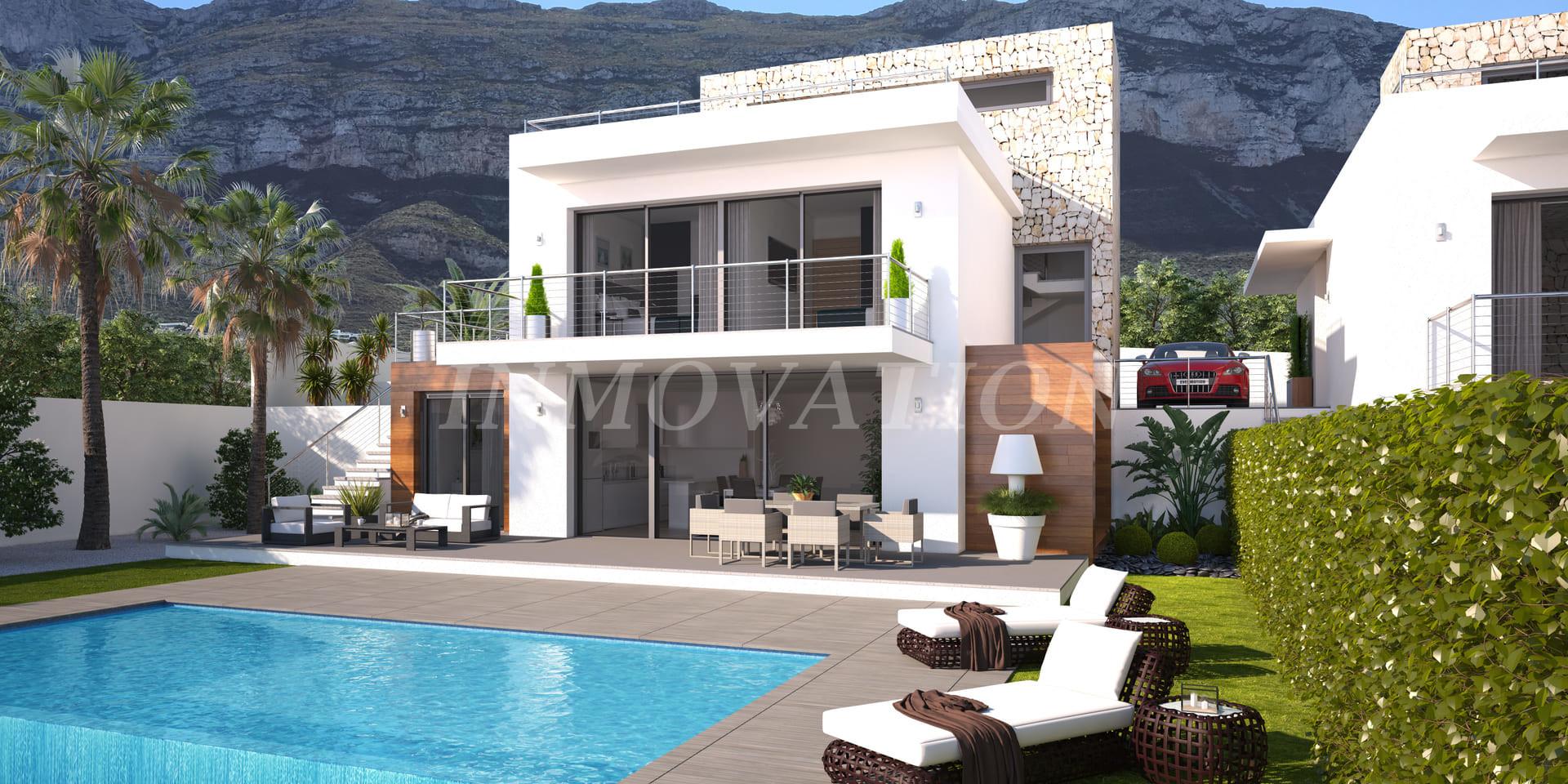 New Development Project of 5 Villas in Denia