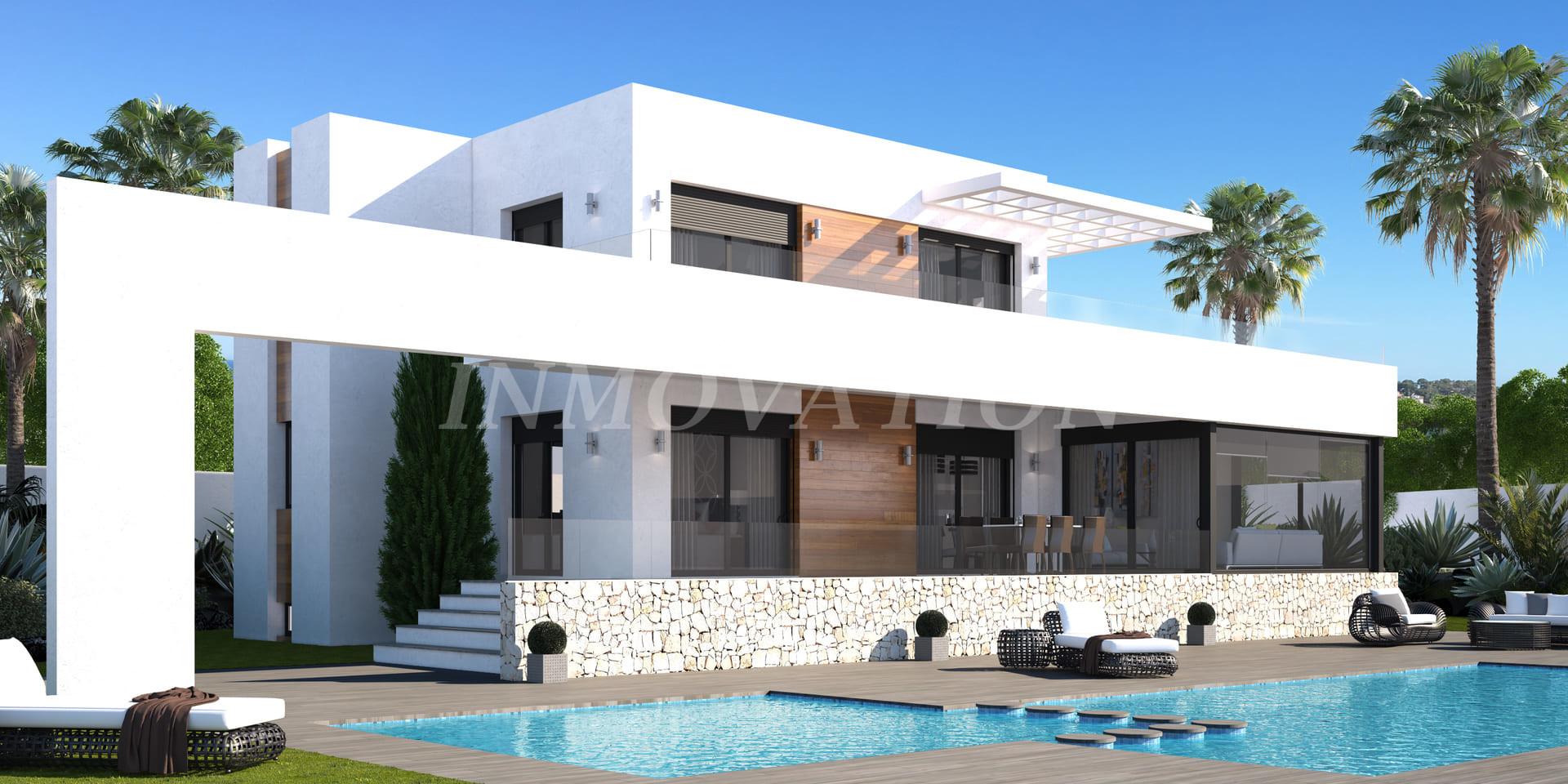 New Modern Villa Design in Denia