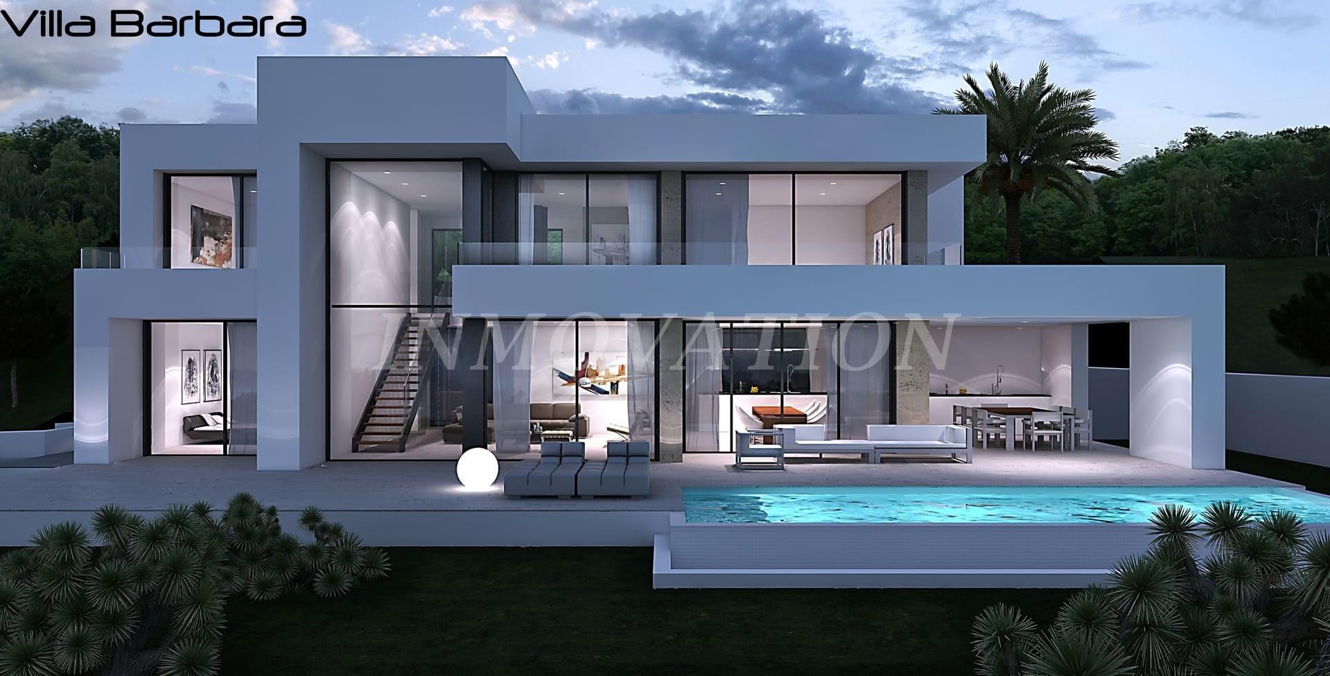 A New Modern Style Villa for Javea