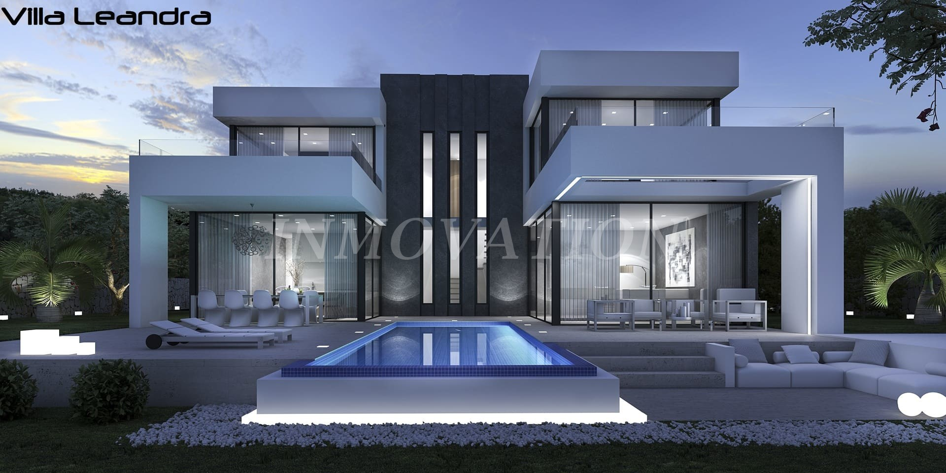 A Superb New Villa for Javea