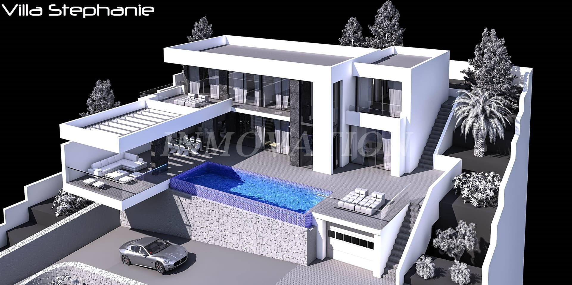 Modern Villa project for Javea