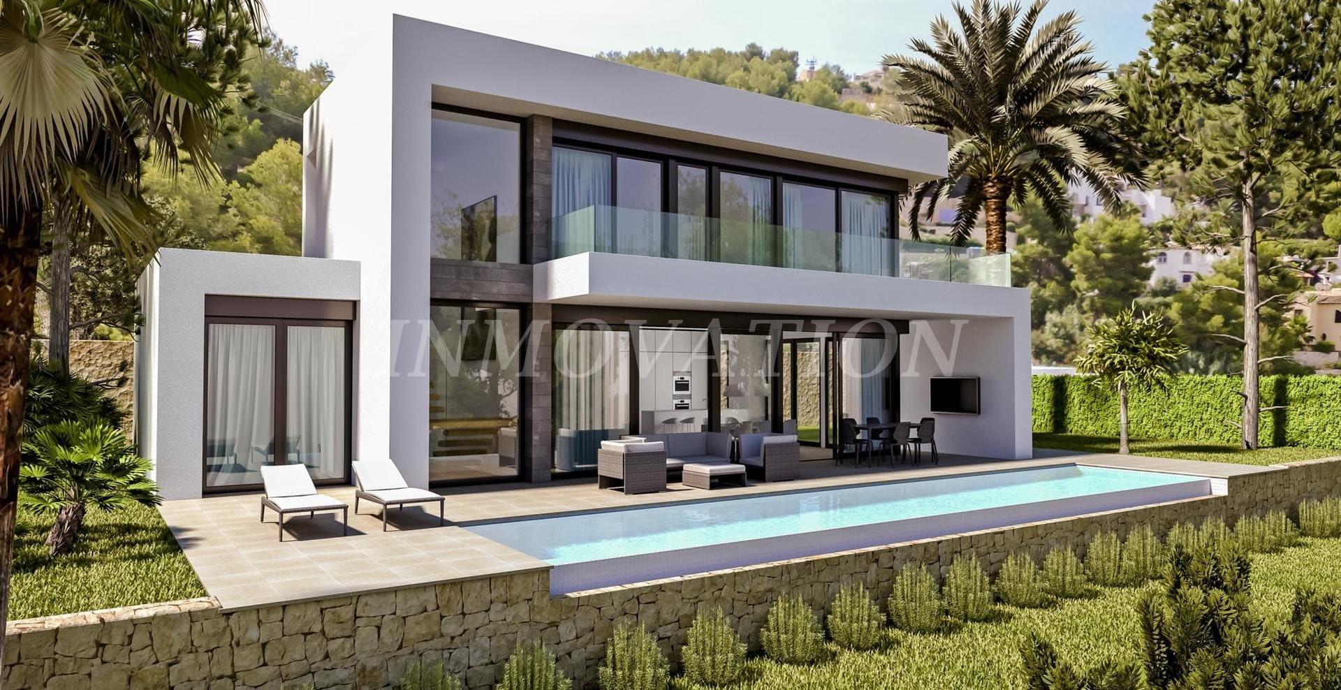 Modern Villa Design for Pedreguer
