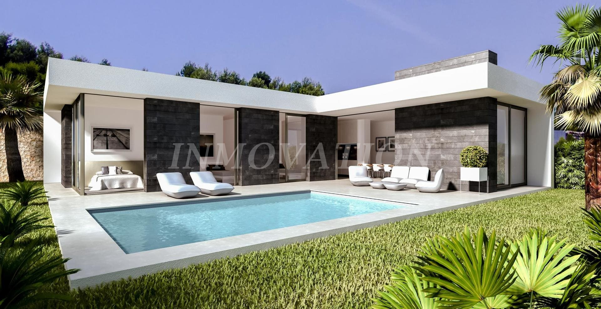 Contemporary Design Villa Project For Pedreguer