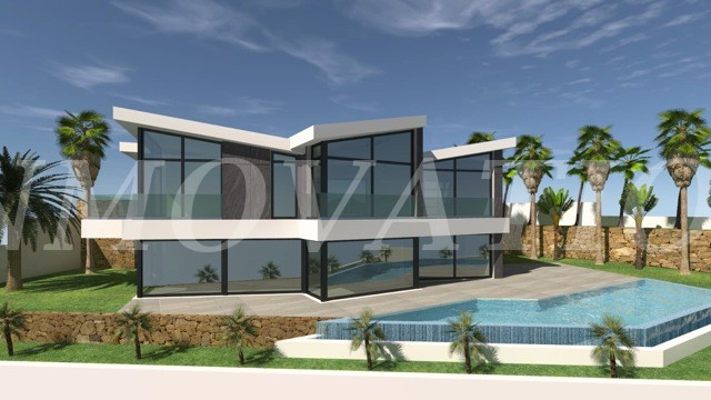 New Private Complex of 4 Individual Villas in Calpe